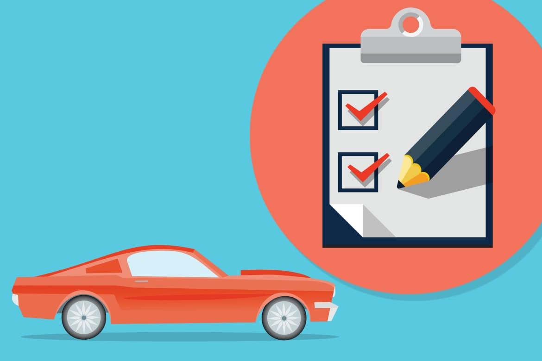 Контрольный список покупателя подержанного автомобиля