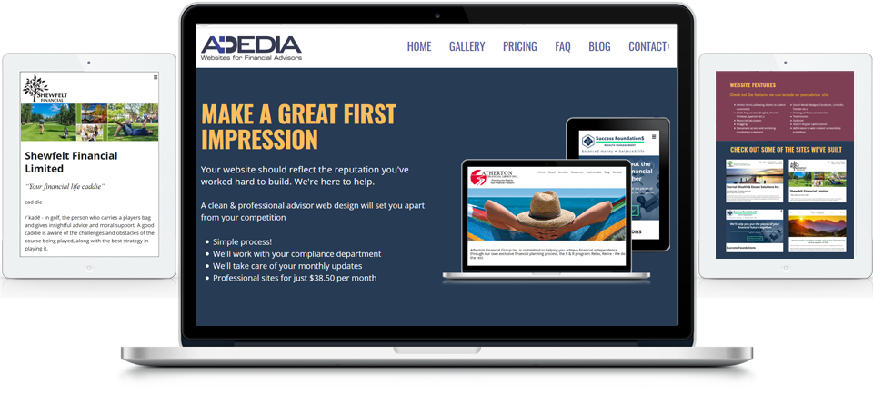 Advisor Websites - Adedia - eStrata