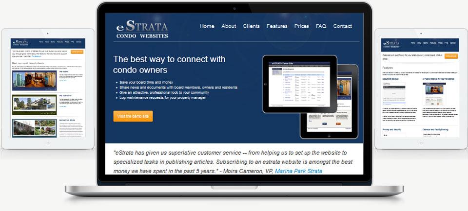 Condo Websites - Adedia - eStrata
