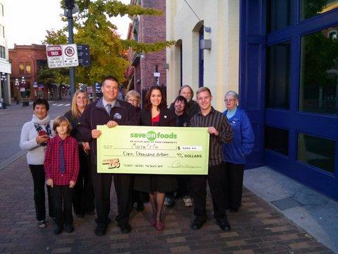 Kiwanis Club of Equimalt sponsors Oct 17 Save on Foods Amazing Kid - Martin St. Cyr