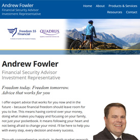 Andrew Fowler - Kingston - Ontario  - Freedom 55 Financial