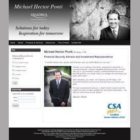 Michael Hector Ponti Victoria BC
