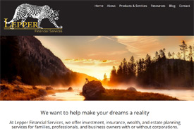 Jamie Lepper - Lepper Financial - website by Adedia - Victoria BC