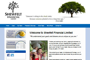 Shewfelt Financial - a financial advisor site by Adedia - Victoria BC