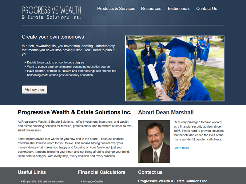 Dean Marshall - Prowes - Vancouver BC