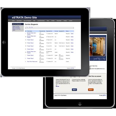 Estrata - Create a condo web app