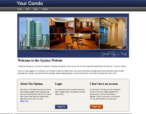 Sign up today for an eStrata Condo Website