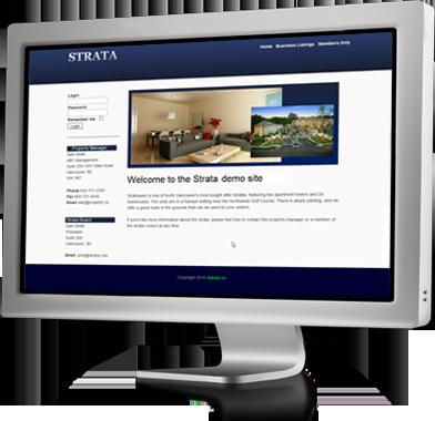Create a condo website