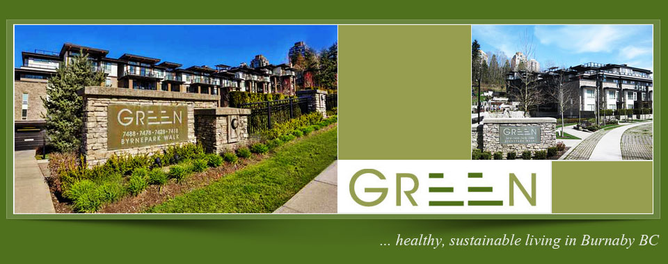 The Green Burnaby Condo Website