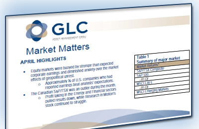 GLC Investment Commentary