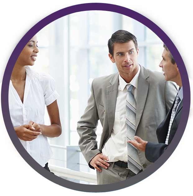 Process circle image