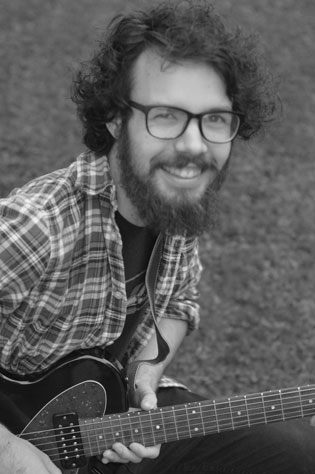 Meet Christian Hardy, Guitar, Ukulele, Bass Guitar instructor at South Island Studio