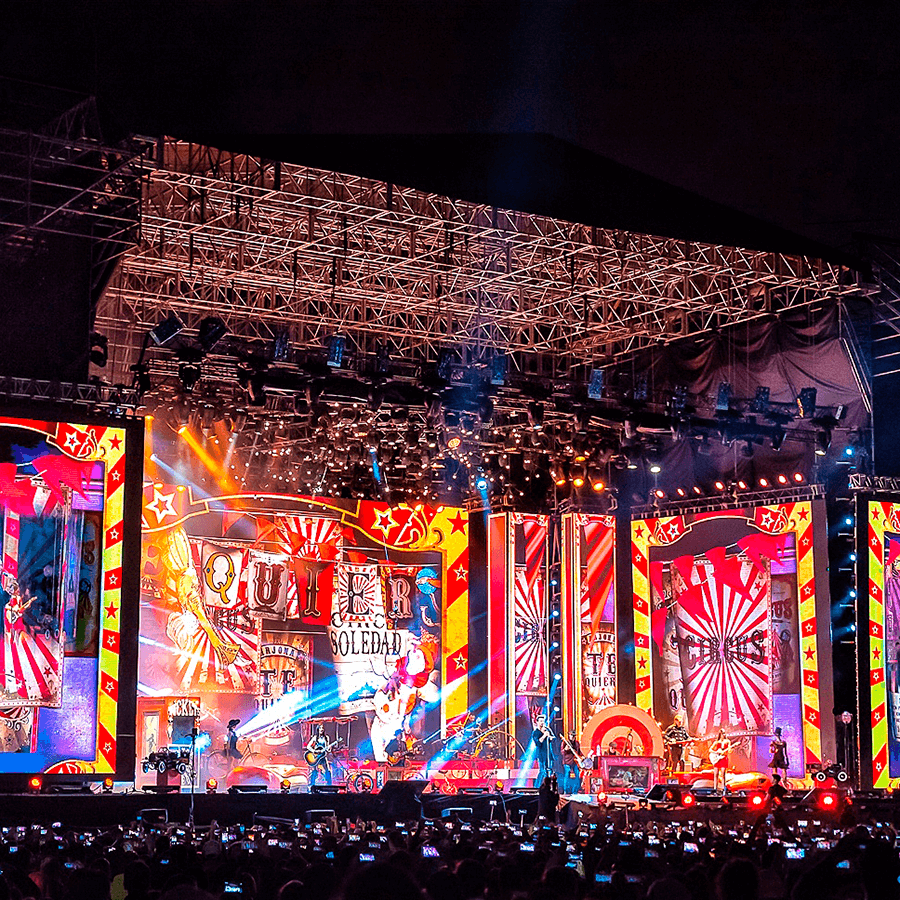 El sonido de los conciertos más grandes de Guatemala