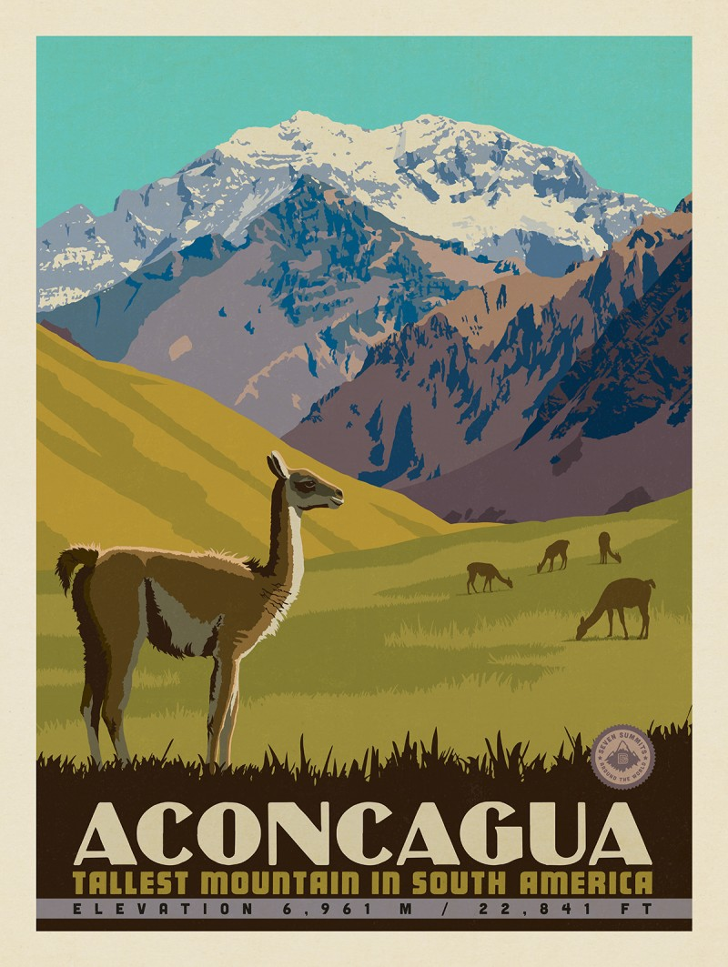 7 Summits  Aconcagua-Tallest Mountain in South America c6e26fbb3ff9