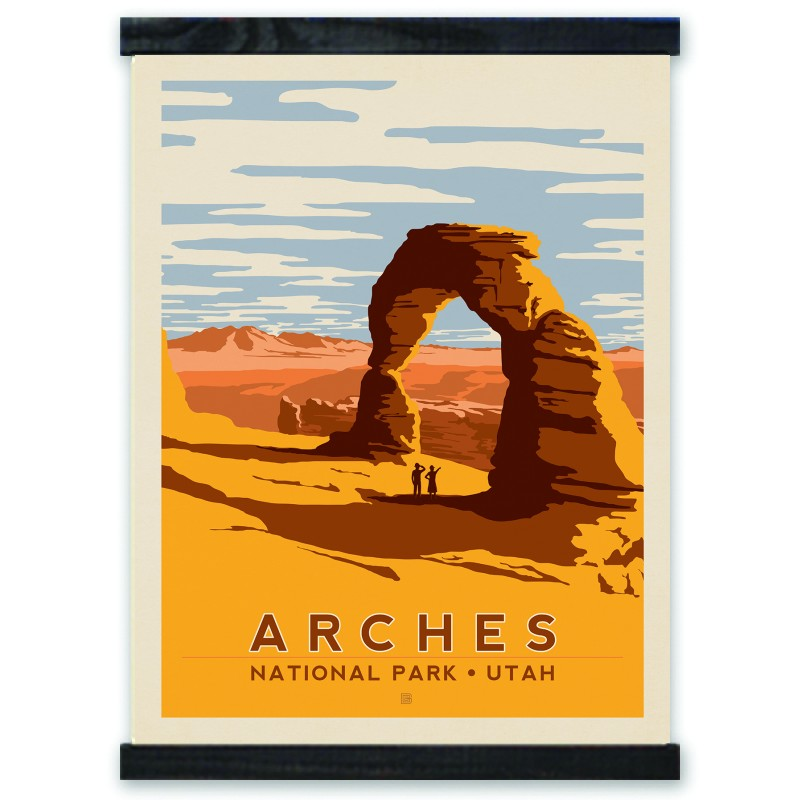 Arches National Park Delicate Arch By Julian Baker Joel Anderson 2010