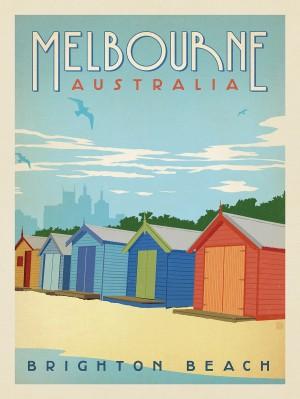 Australia: Melbourne/Brighton Beach