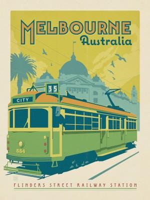 Australia: Melbourne Tram Car