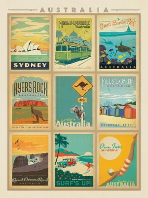 Australia: Multi-Image Print