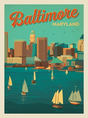 Baltimore, Maryland: Harbor View