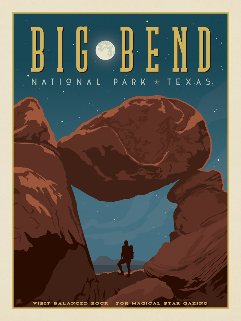 Big Bend National Park: Balanced Rock