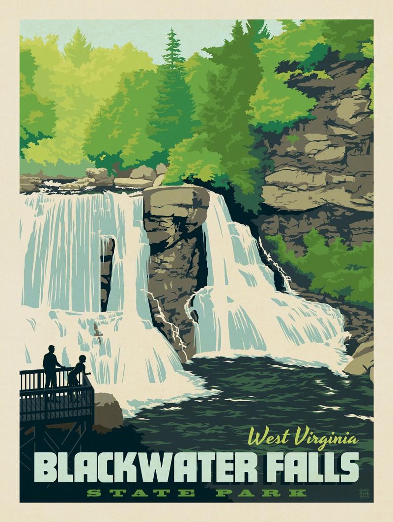 Blackwater Falls State Park: West Virginia