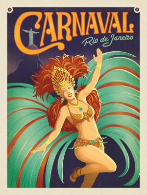 Brazil: Carnaval, Rio De Janeiro