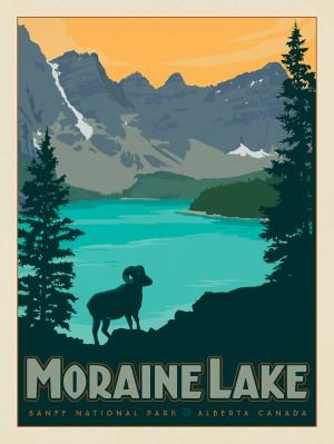 Canada: Moraine Lake