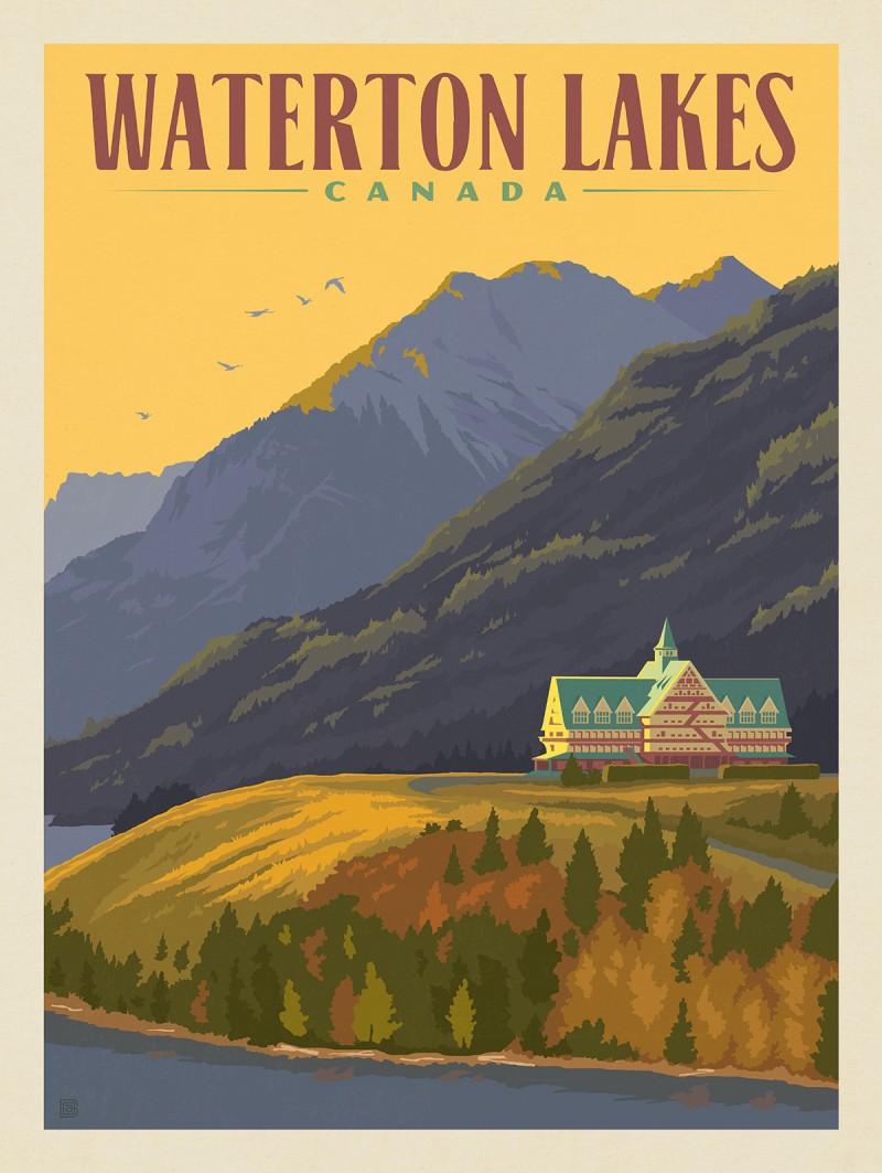 Canada: Waterton Lakes
