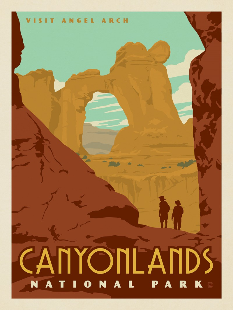 Canyonlands National Park: Angel Arch