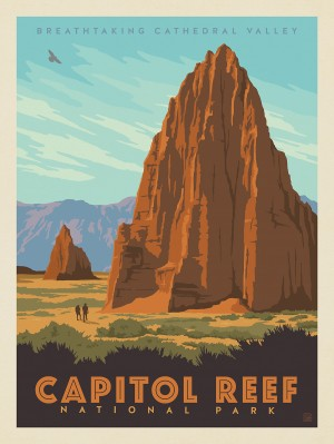 Capitol Reef National Park: Cathedral Valley