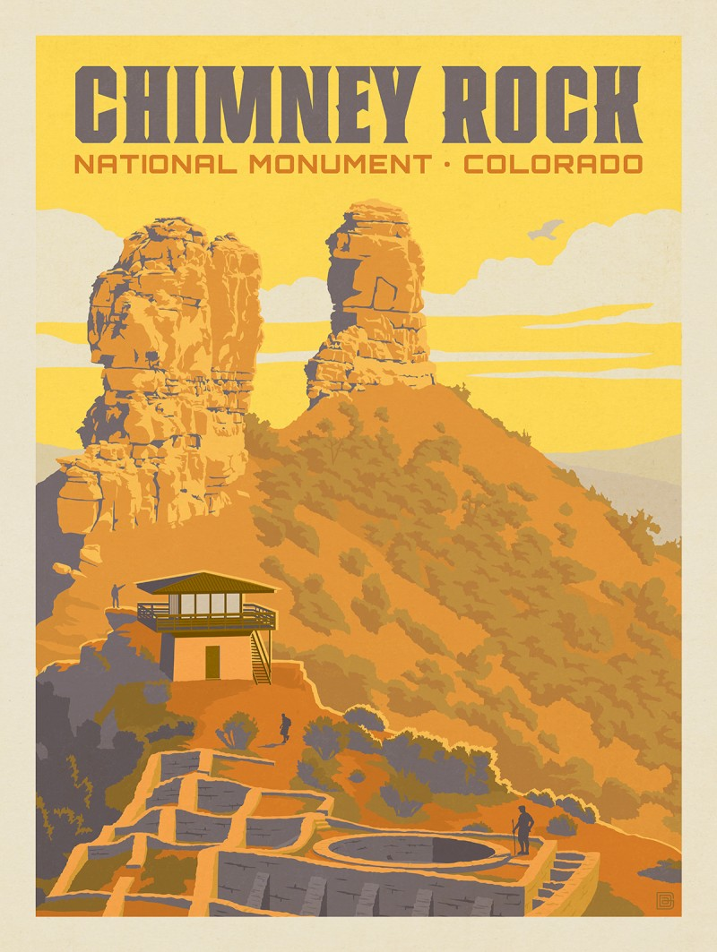 Chimney Rock National Monument, CO