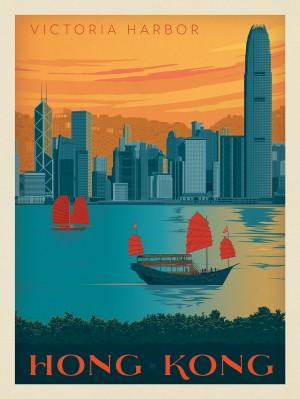 China: Hong Kong, Victoria Harbor