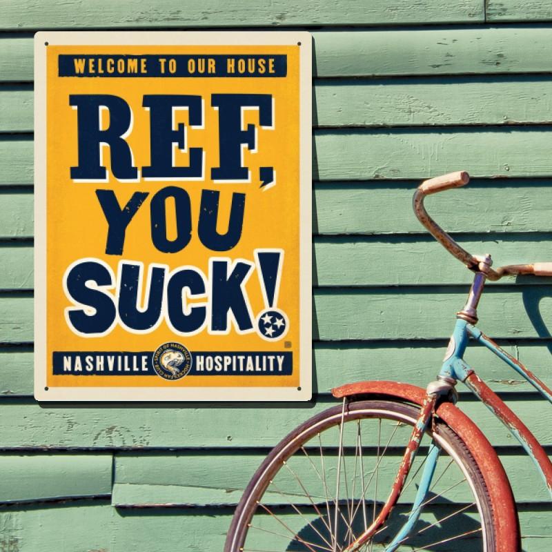Spirit Of Nashville Hockey Fan Club: Ref, You SUCK! | Anderson Design Group