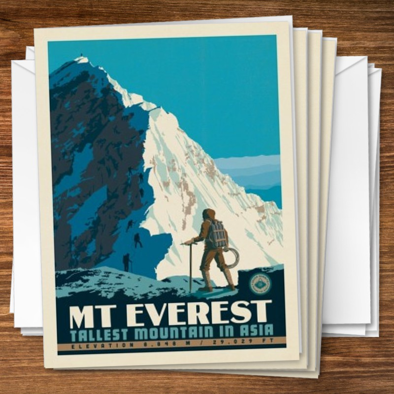 SIR EDMUND HILLARY PHOTO PRINT MOUNT EVEREST CLIMBING POSTER GIFT