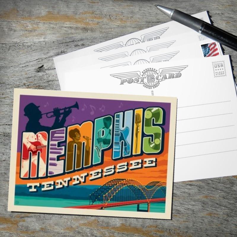 Memphis, TN: Picture Letters | Anderson Design Group