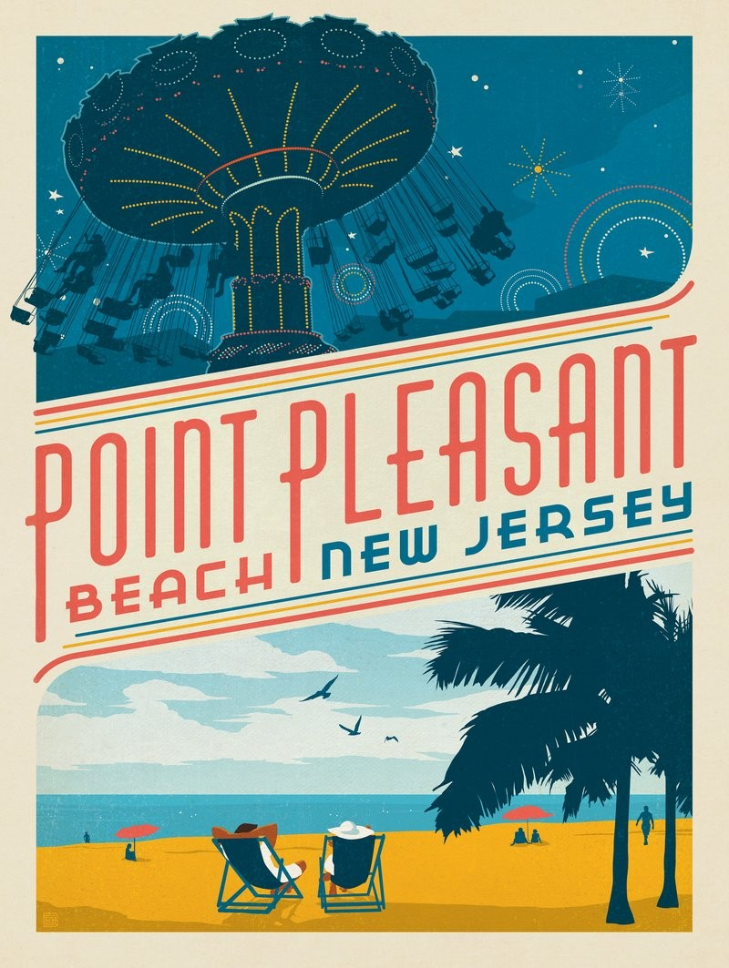 New Jersey NEW U.S Travel Poster
