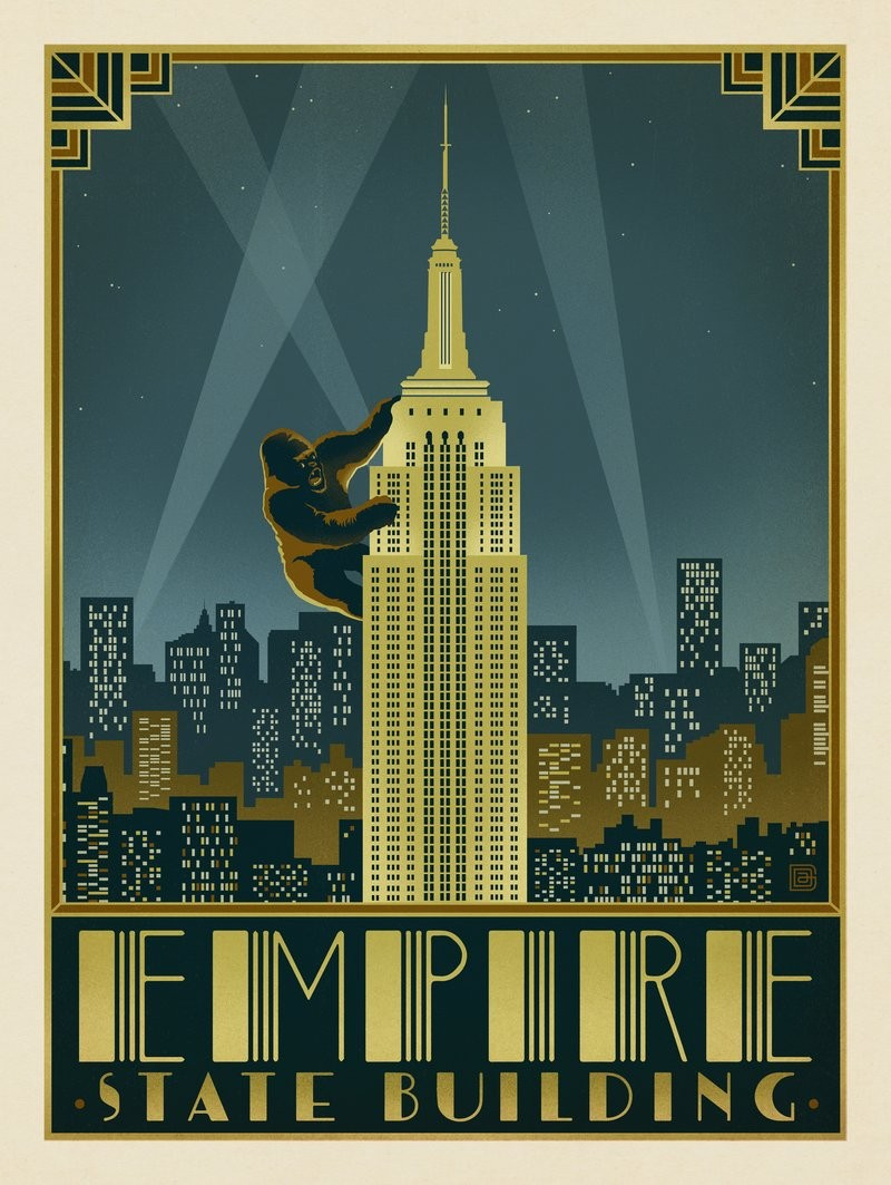 Deco Design New York new york city: empire state building | anderson design group