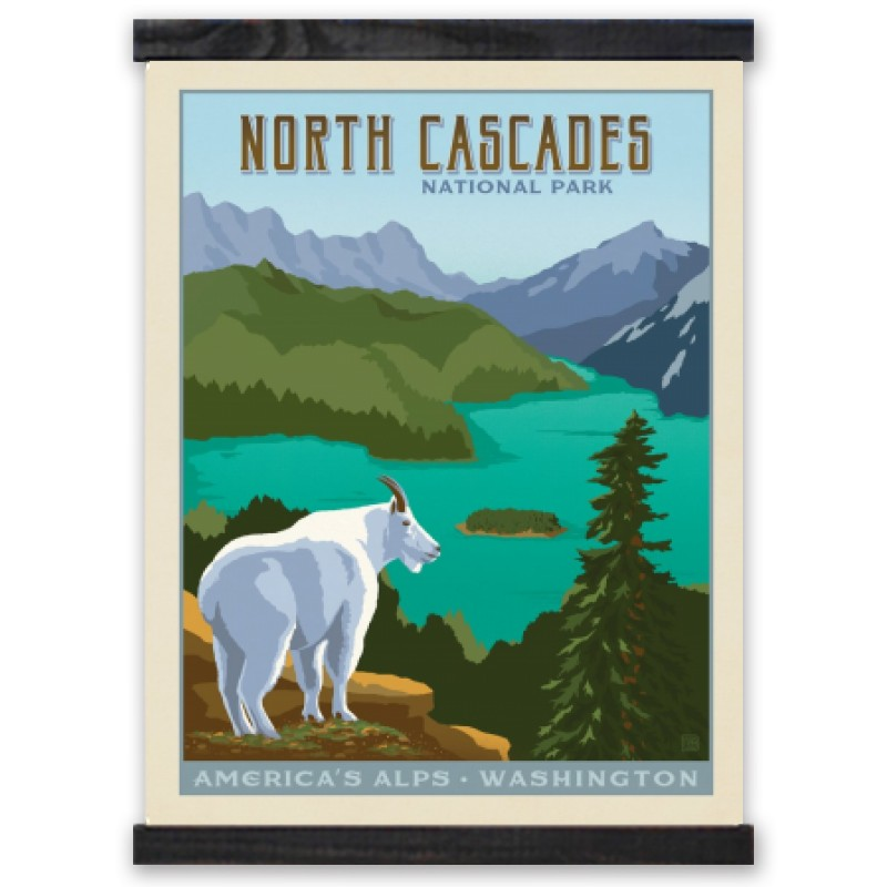 North Cascades National Park Poster