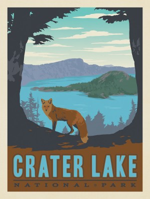Crater Lake National Park: Fox