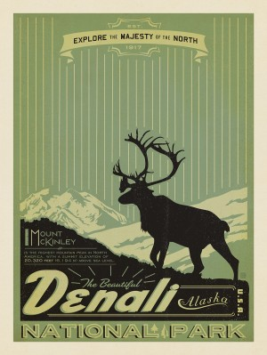 Denali National Park: Print Shop