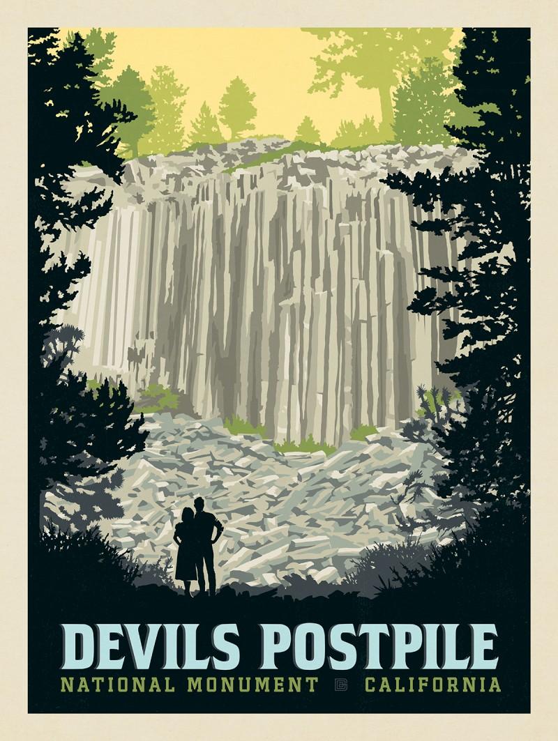 Devils Postpile National Monument, California