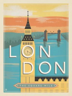 England, London: Mid-Century Modern