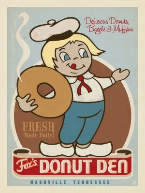 Fox's Donut Den