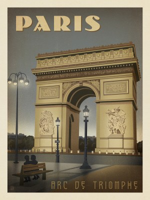 France: Paris, Arc De Triomphe 2