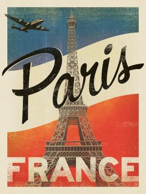France, Paris: Vintage Print