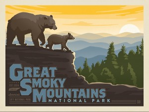 Great Smoky Mountains Horizontal Print