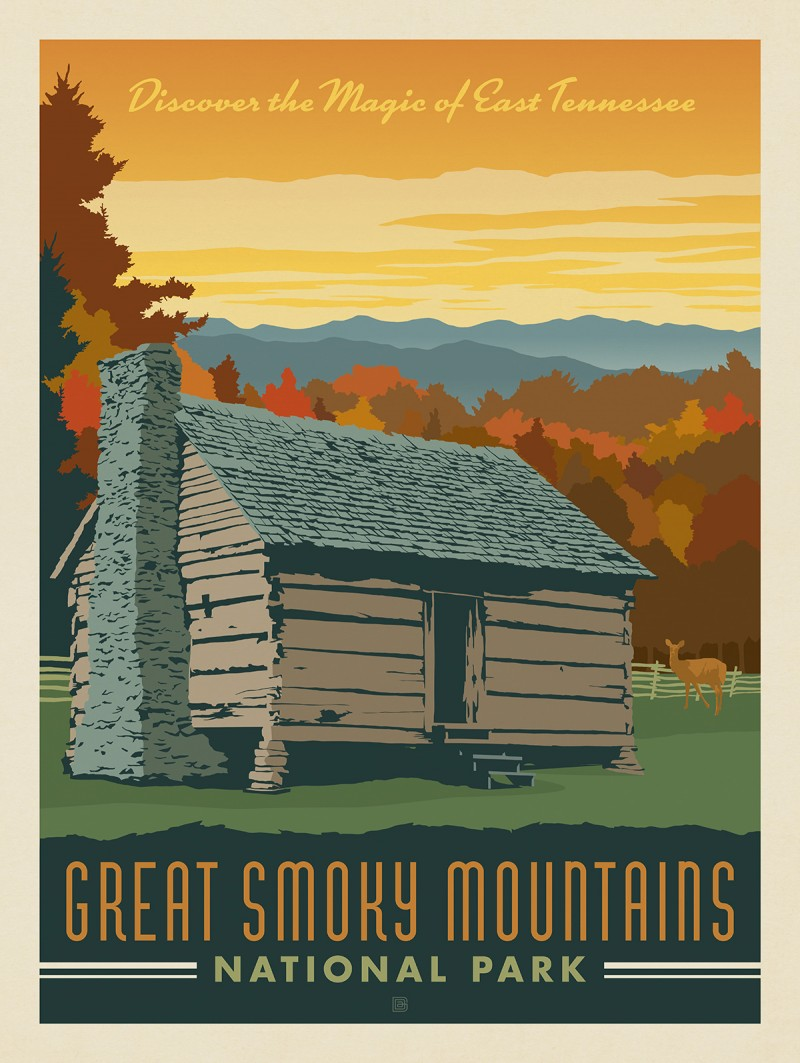 Anderson Design Group 60 American National Parks Great Smoky