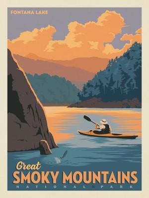 Great Smoky Mountains National Park: Fontana Lake
