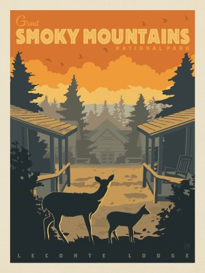 Great Smoky Mountains National Park: LeConte Lodge