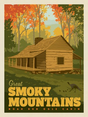 Great Smoky Mountains National Park: Noah Bud Ogle Cabin